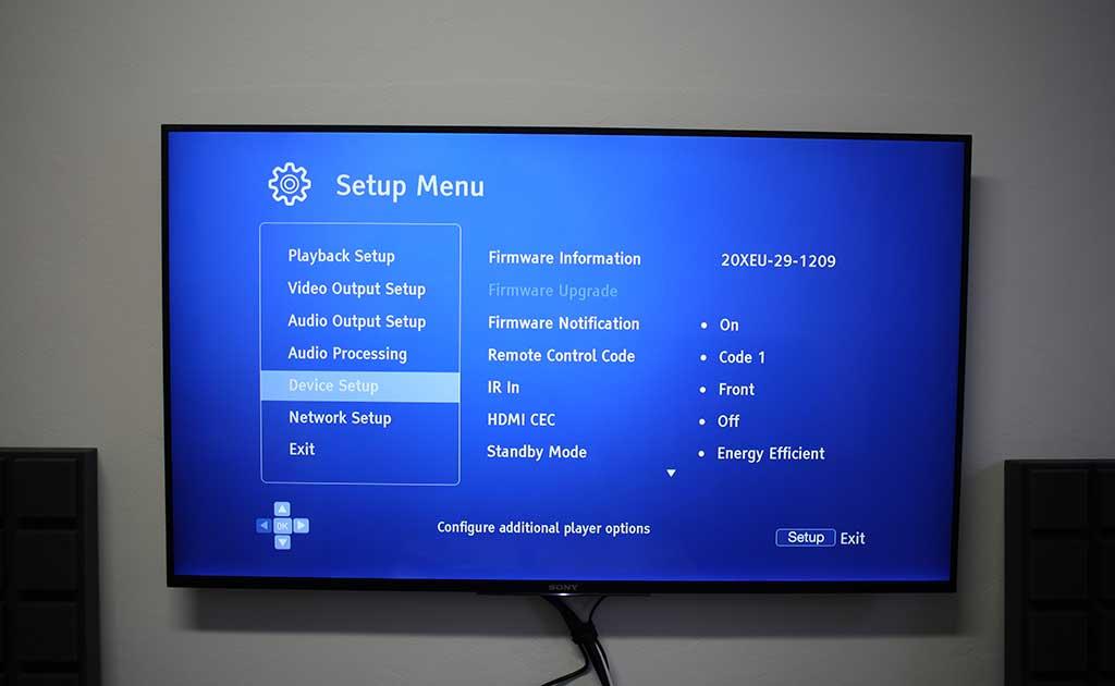 OPPO UDP-203 - Hi-Fi Voice - recenze audio-video techniky a